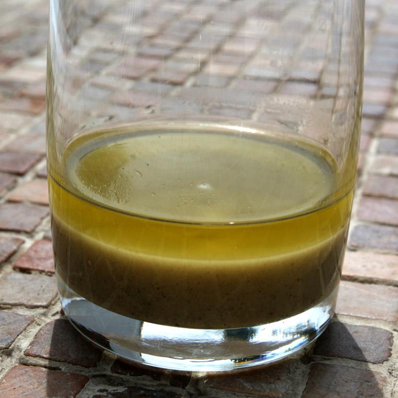 Konopný olej po usazení