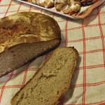 Kváskový chléb a svatomartinské rohlíčky