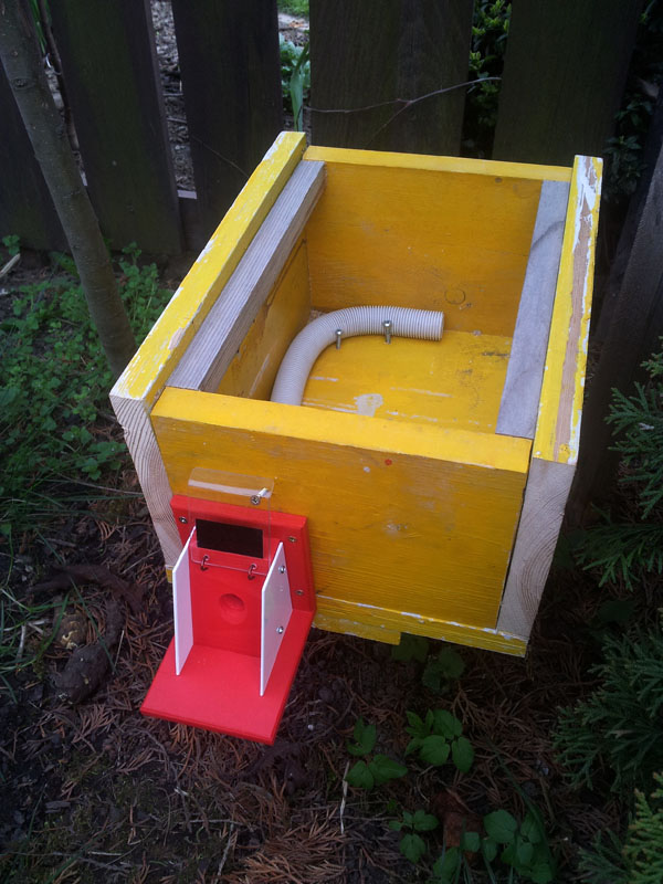 Bezpečnostní klapka proti škůdcům